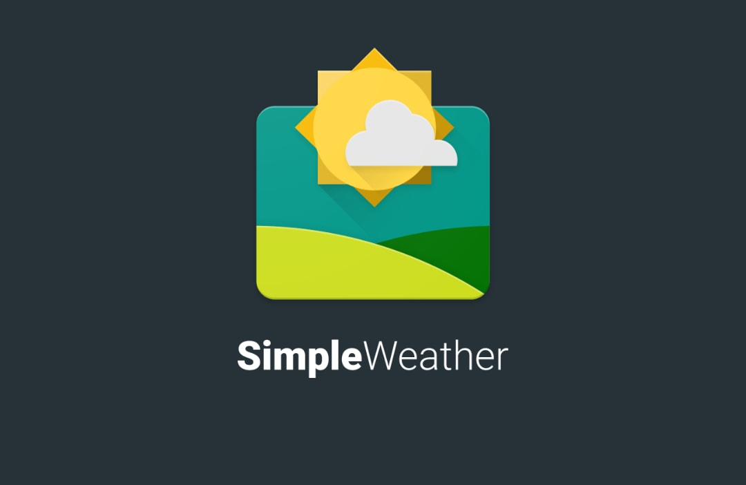Simple Weather head