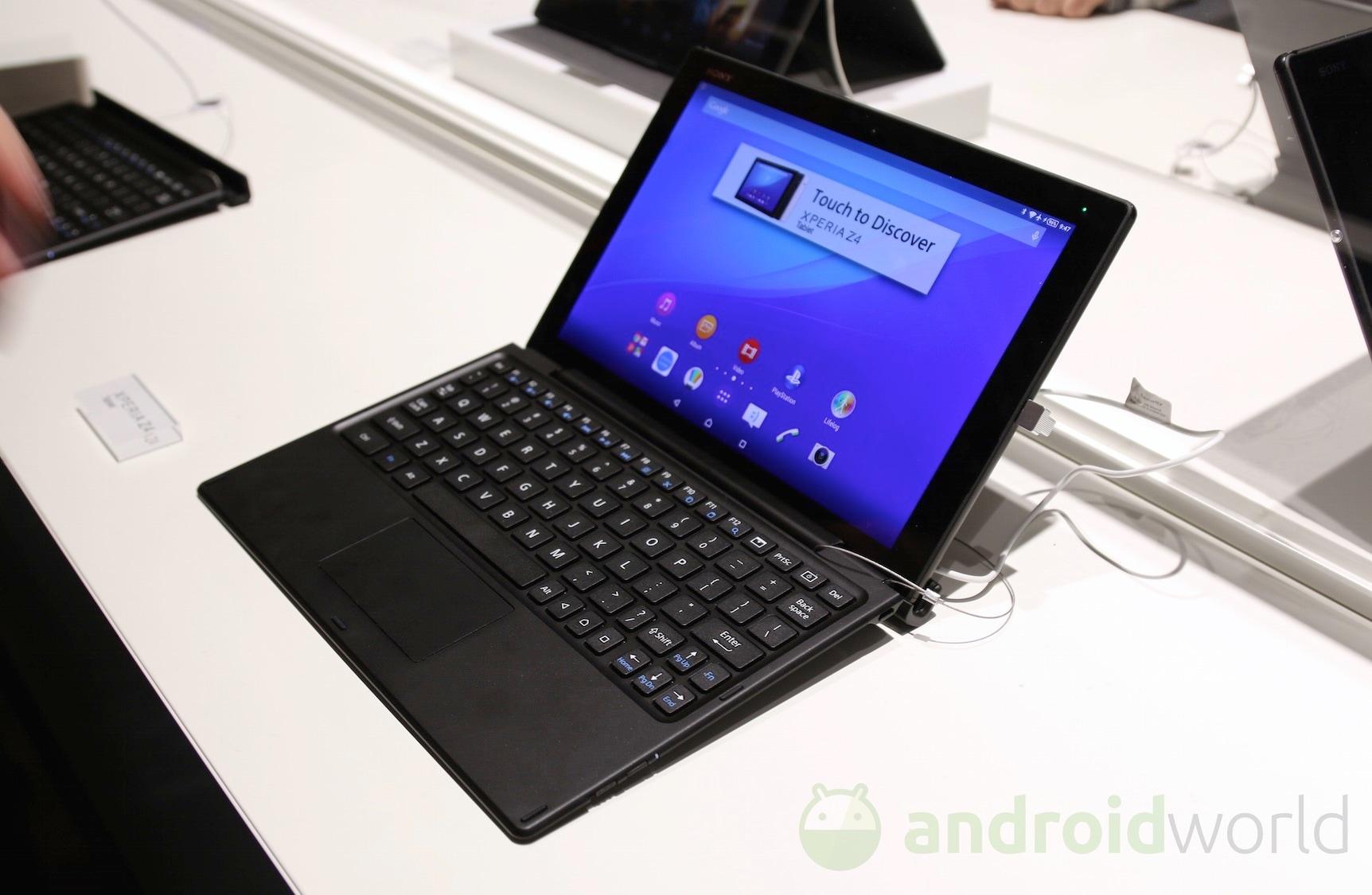 sony xperia z4 tablet la nostra anteprima foto e video