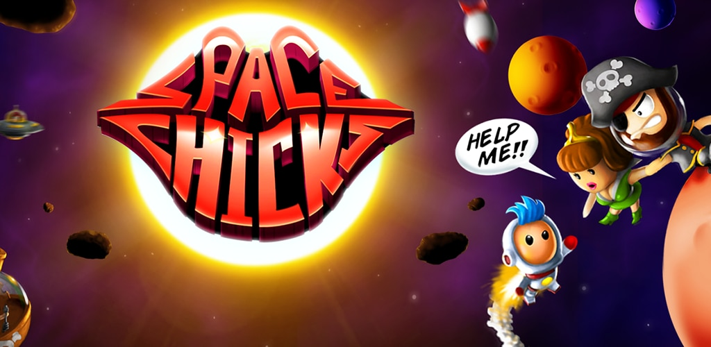 Crescent Moon Games rilascia l'endless platform Space Chicks su Android (video)