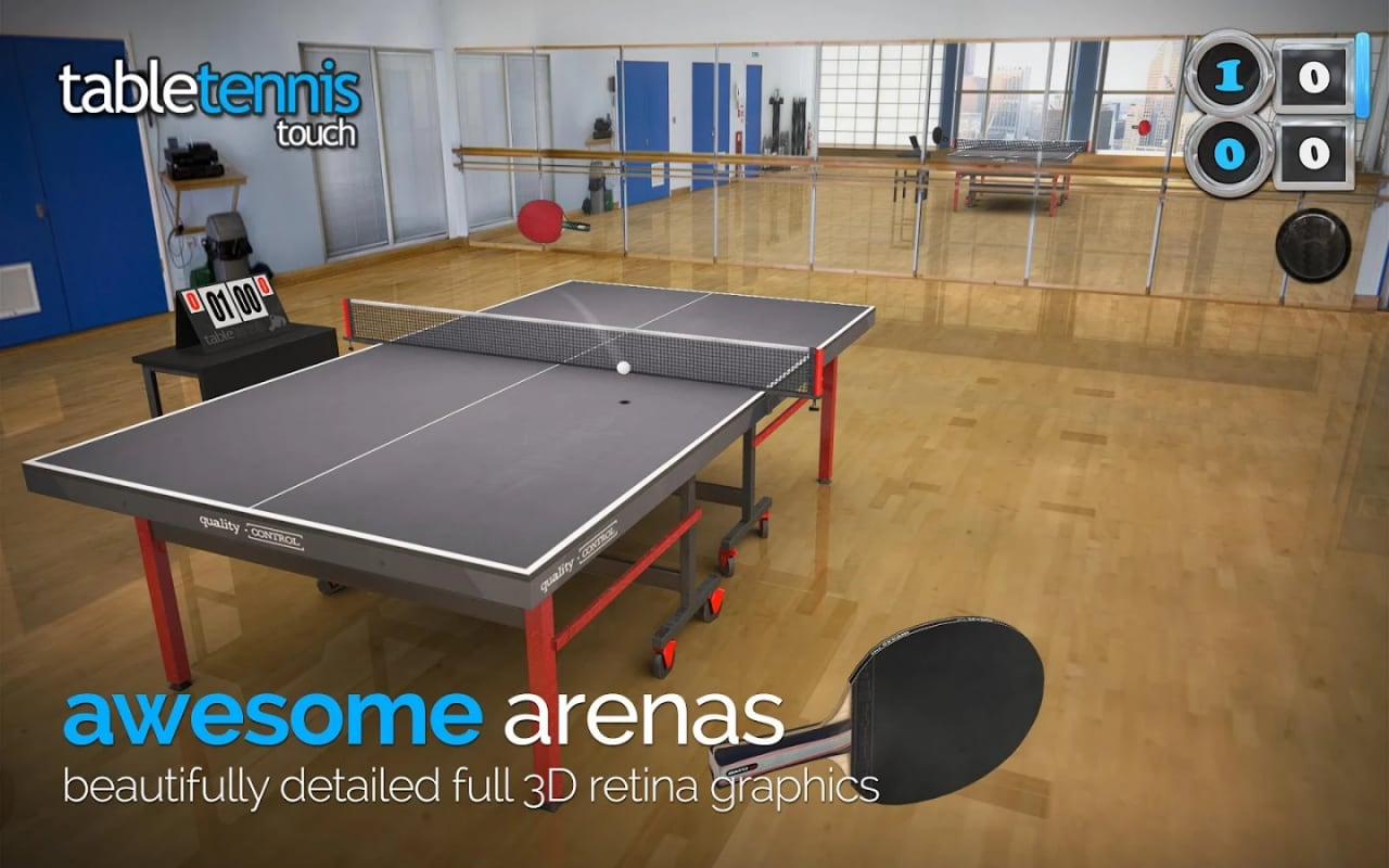 Table Tennis Touch Android - 7