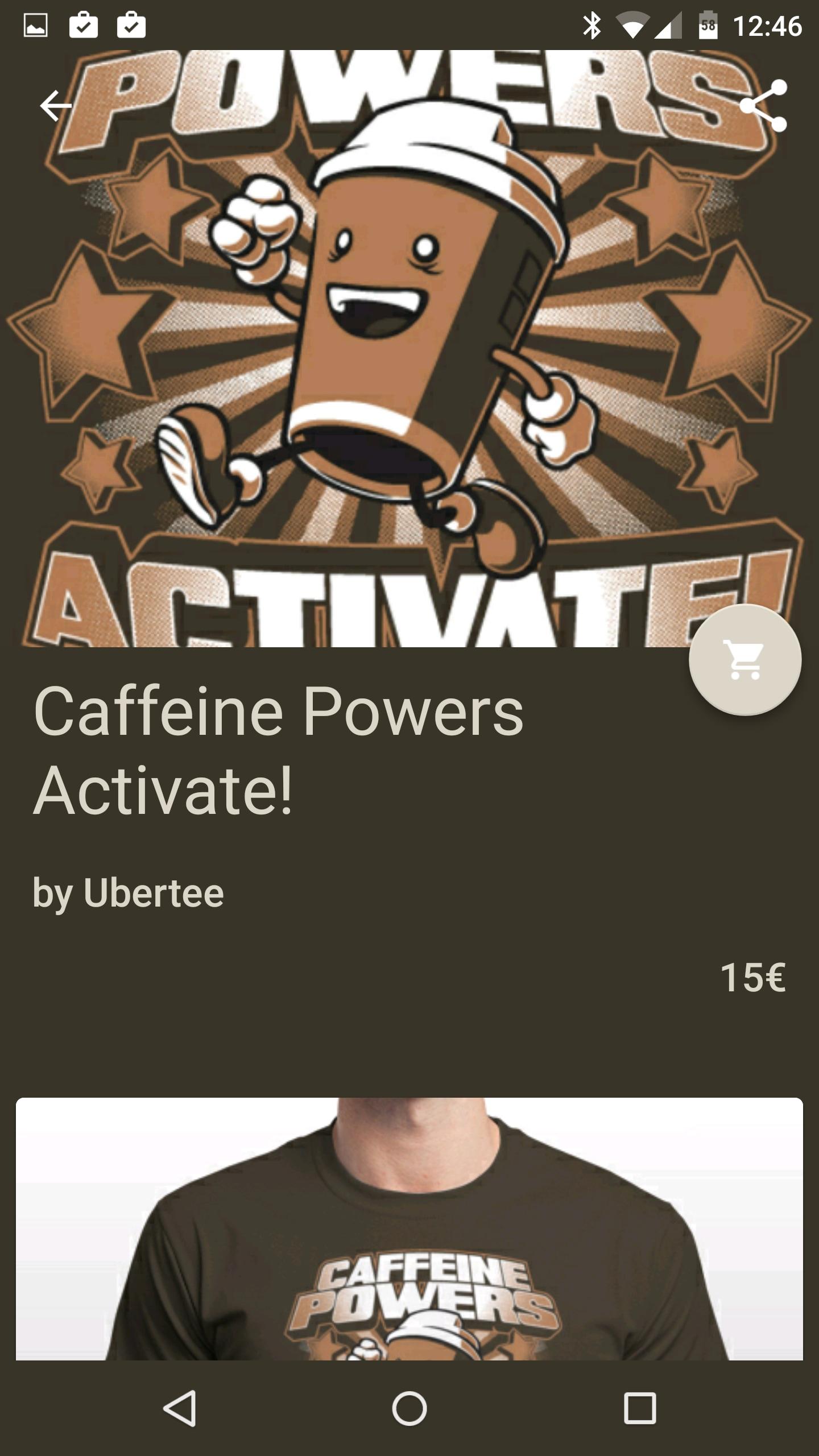 Ubertee per Android screenshot – 4