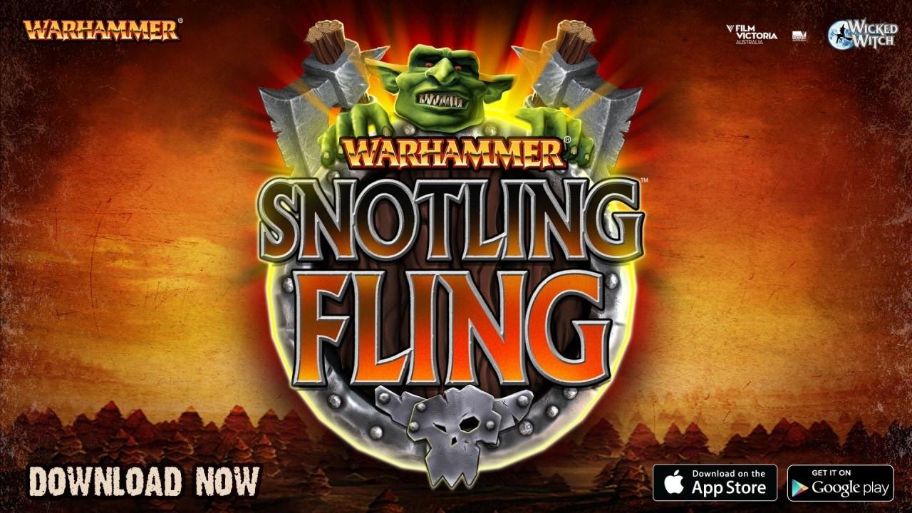 Piovono decine di goblin in Warhammer: Snotling Fling (video)