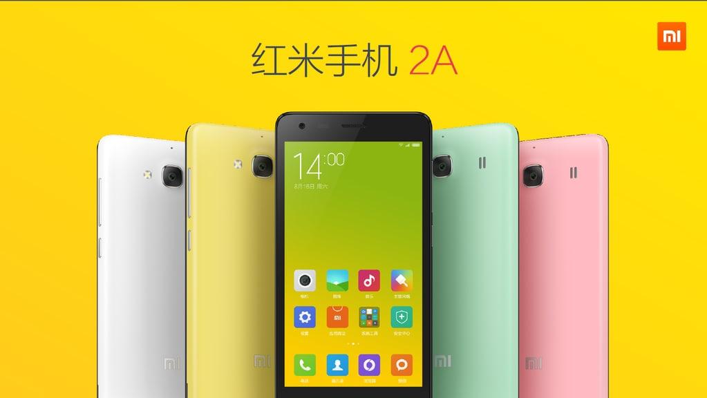 Xiaomi Redmi 2A abbandona Qualcomm a vantaggio del prezzo