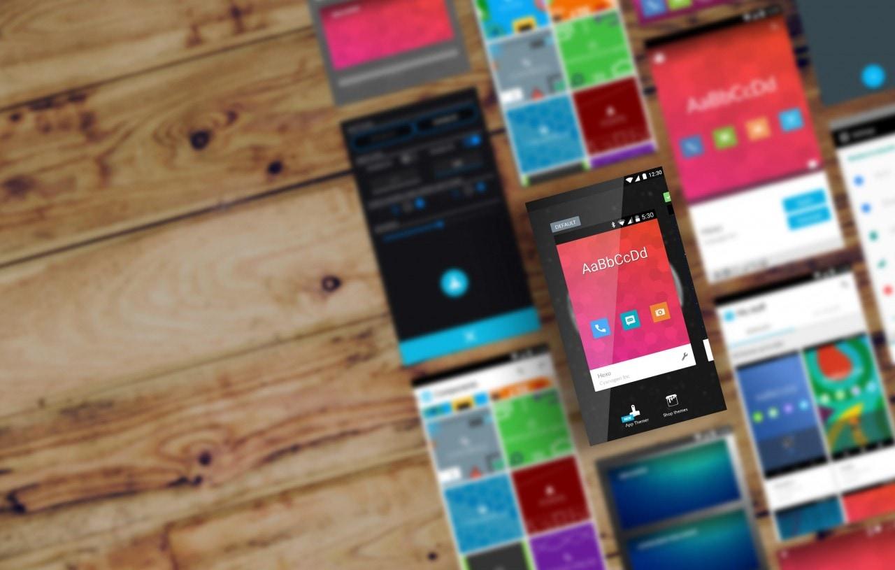 Cyanogen Inc presenta App Themer: i temi si applicano anche alle app (foto)