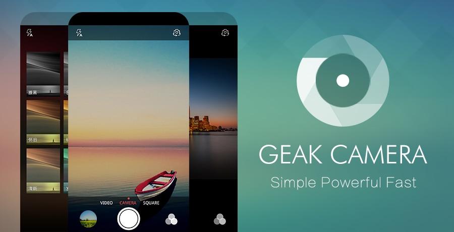 Un'app per le foto leggera e veloce: GEAK Camera (foto)