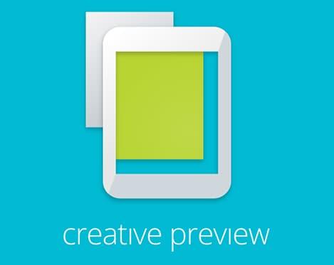 google creative preview