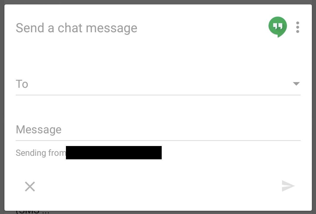 Google Now permette di inviare messaggi Hangouts (in inglese)