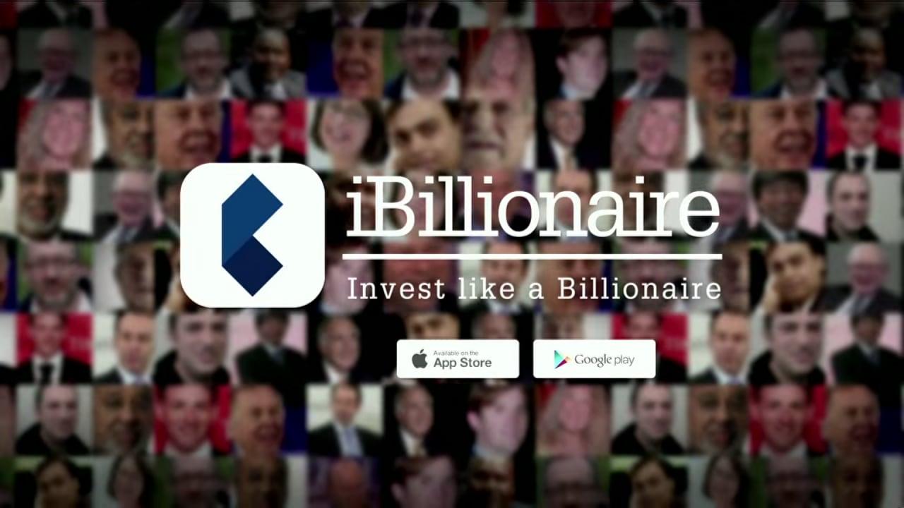 Investire in borsa come un miliardario: iBillionaire (foto e video)