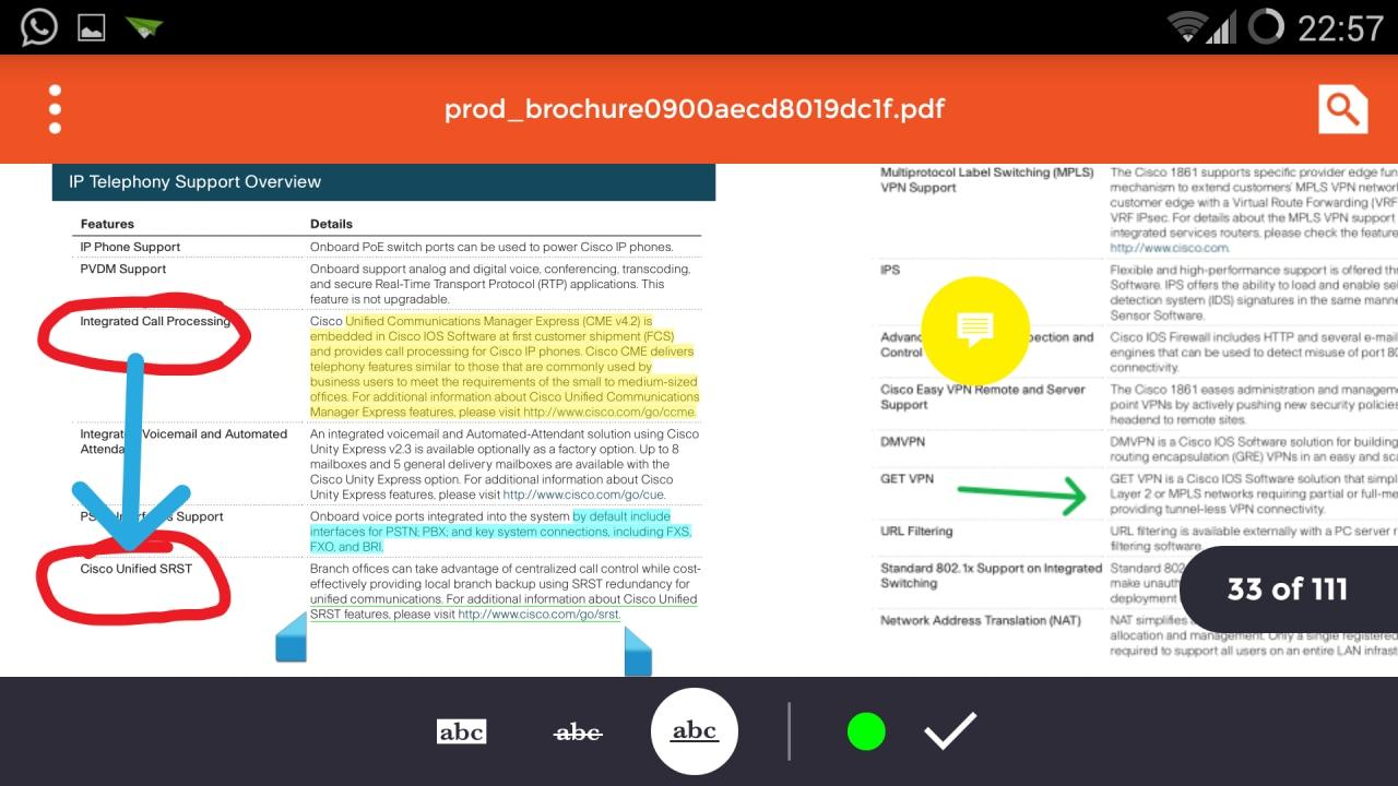 Come aggiungere note, sottolineature e disegni ai propri file PDF: iAnnotate (foto e video)