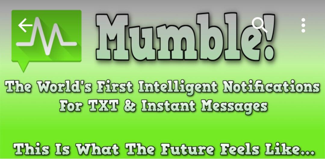 """La vibrazione che """"legge"""" i vostri messaggi: Mumble! (foto)"""