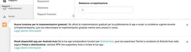 staged rollout implementazioni graduali
