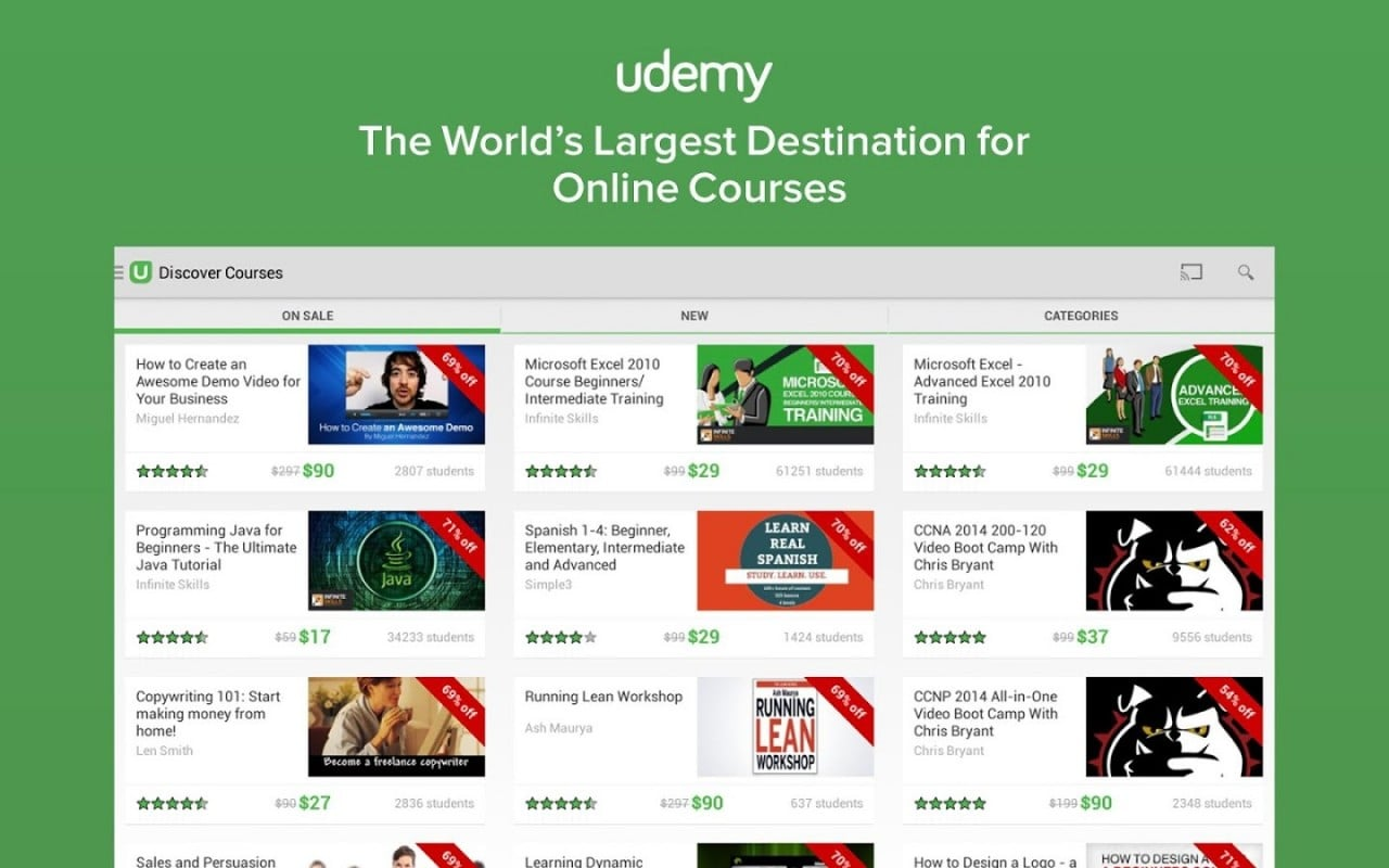 udemy head