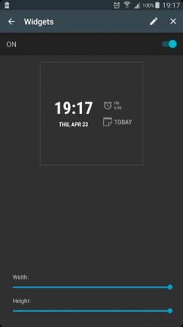 AcDisplay 3.4 widget - 1
