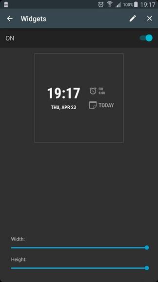 AcDisplay 3.4 widget – 1
