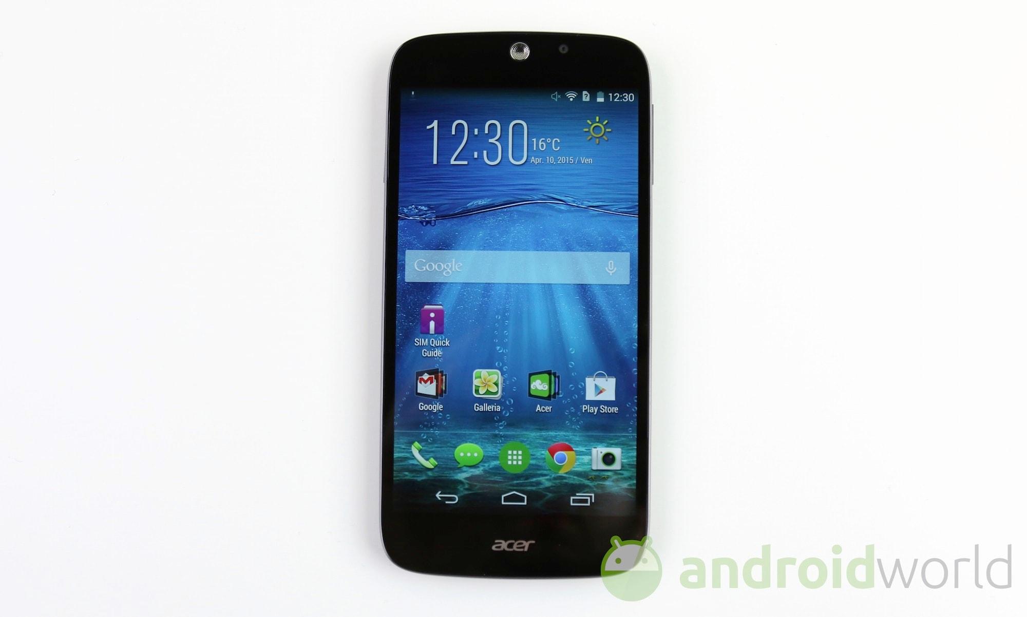 Acer Liquid Jade Z  – 2