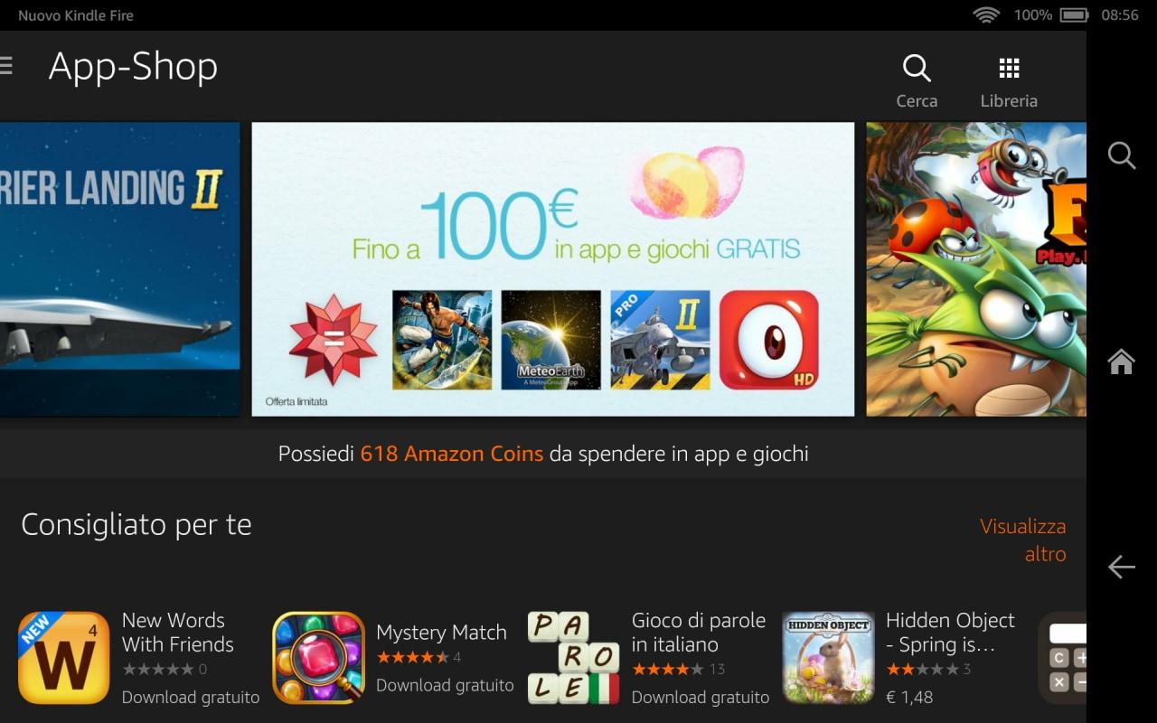 Amazon 100€ regalo