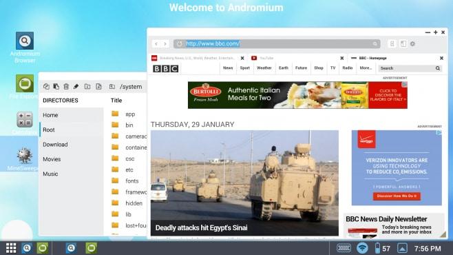Andromium OS - 1