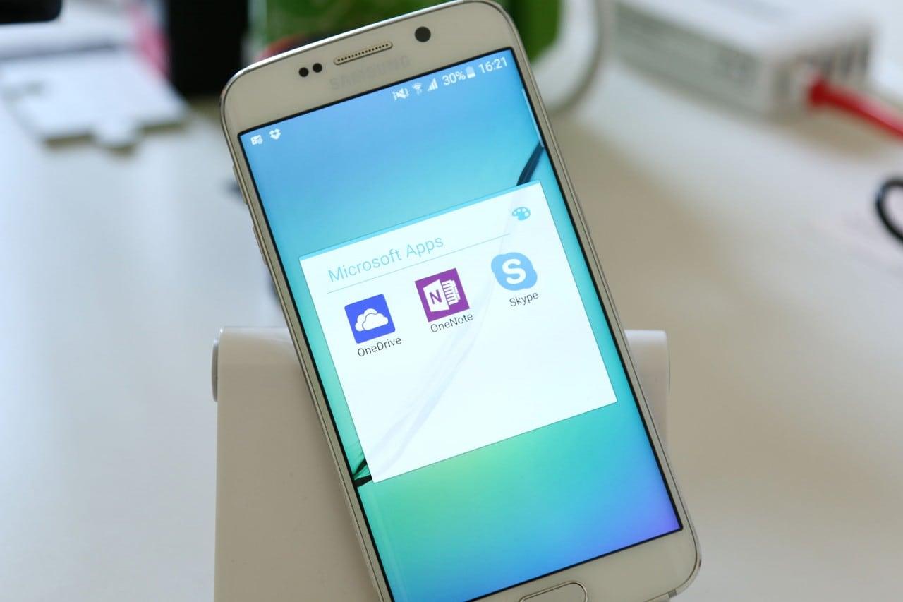 App Microsoft Galaxy S6 Edge