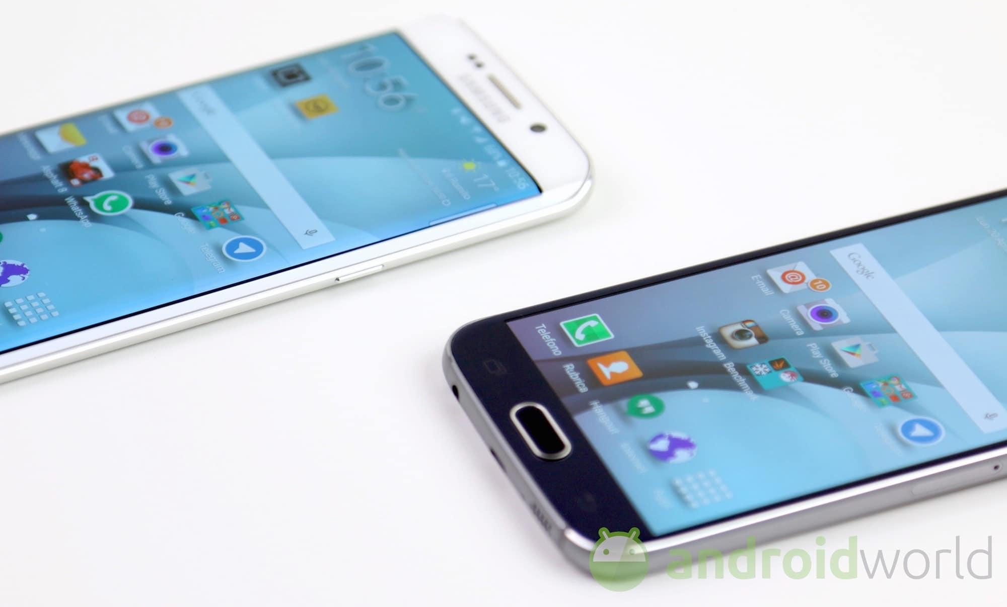 Samsung Galaxy S6 Vs S6 Edge Il Nostro Confronto Foto E