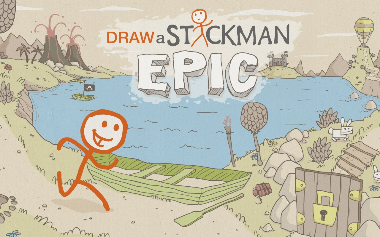 Draw a Stickman: EPIC è l'App gratuita del giorno su Amazon App-Shop