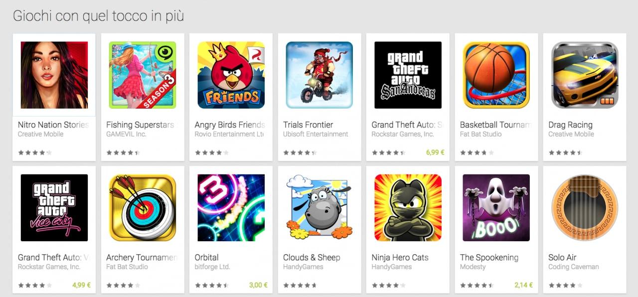 Ecco una lista di giochi per Android con feedback aptico