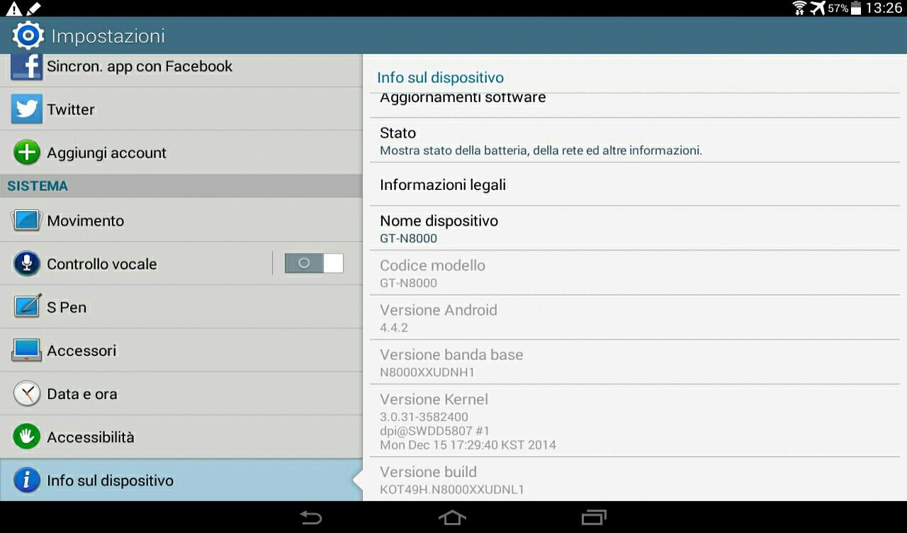 Samsung aggiorna Galaxy Note 10.1 a KitKat e allarga la diffusione di Lollipop su Galaxy Tab S 10.5
