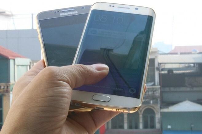 Galaxy S6 e Galaxy S6 Edge placcato oro - 1
