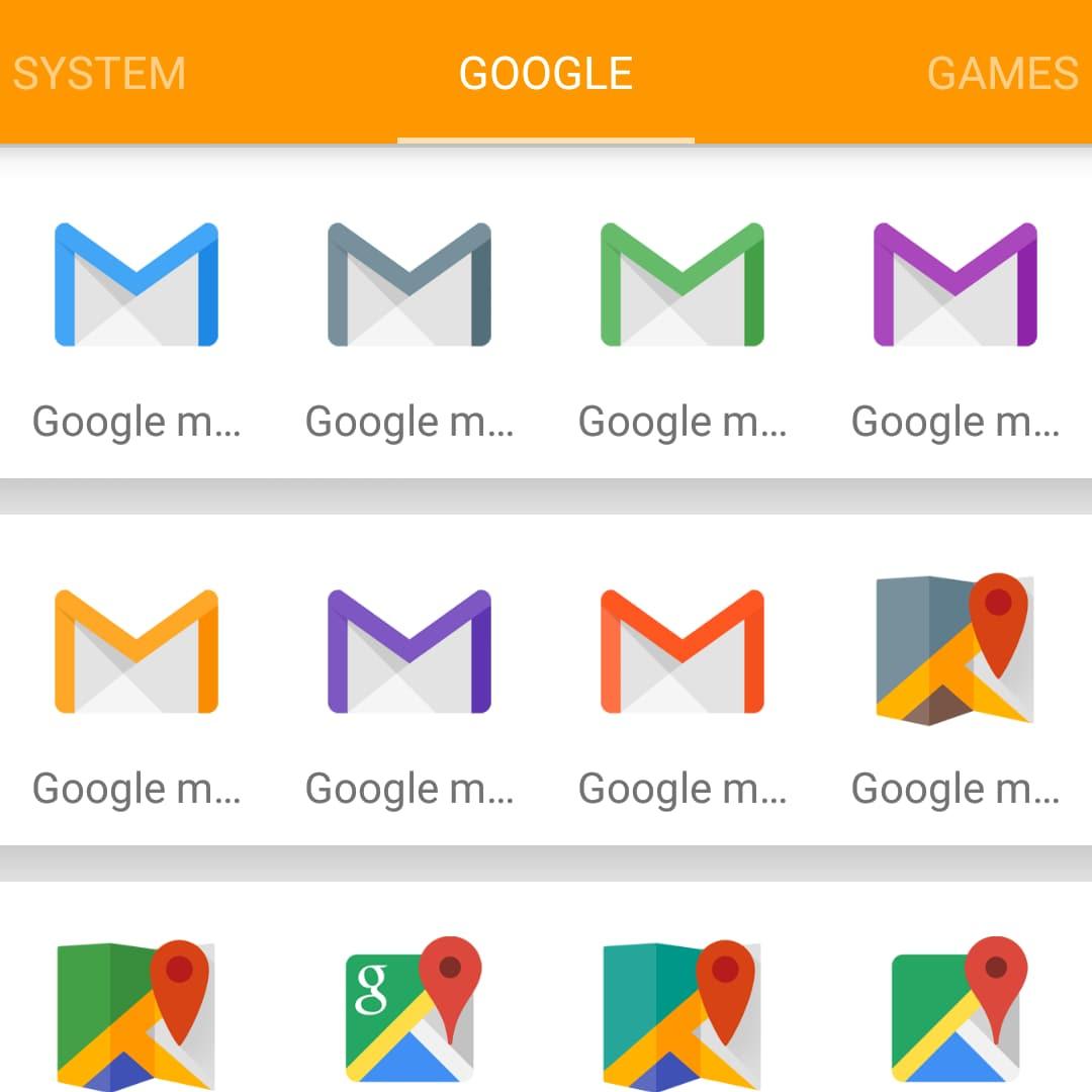 Un coloratissimo ed originale icon pack: Glim (foto)