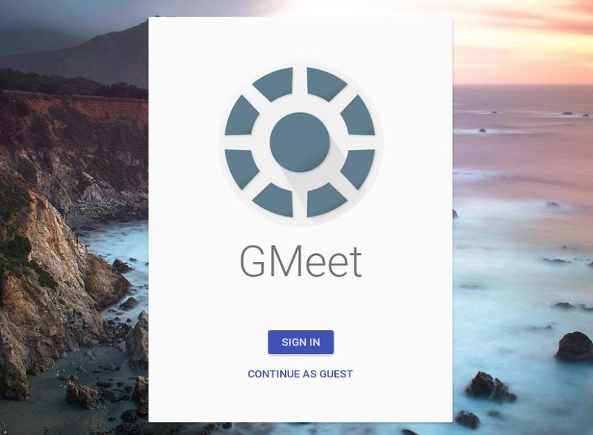 Google Meeting leaked - 2