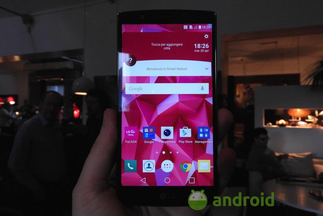 LG G4 esce da un drop test con il vetro rotto (ma non smette di funzionare) (video)