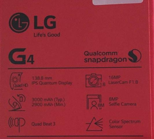 LG G4 confezione – 1