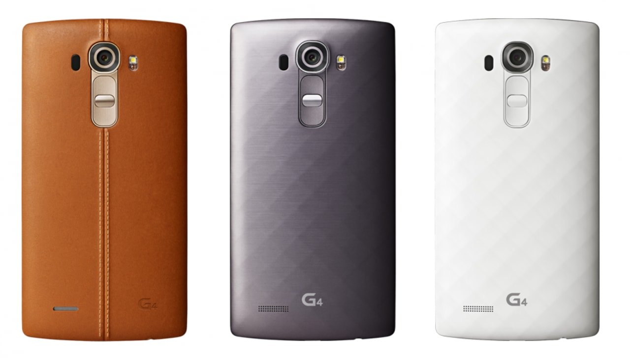 LG G4 render ufficiale