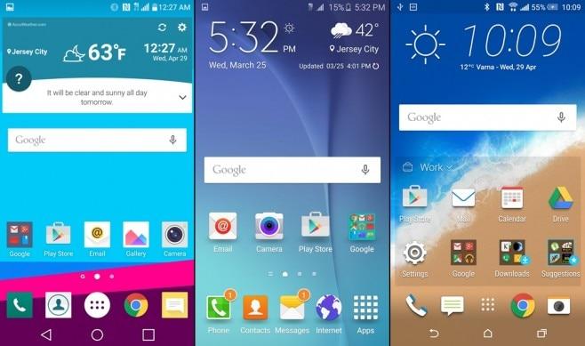 LG UX TouchWiz Sense - home - 1
