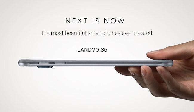 Landvo S6 è un clone così preciso che copia anche i poster pubblicitari di Galaxy S6 (foto)