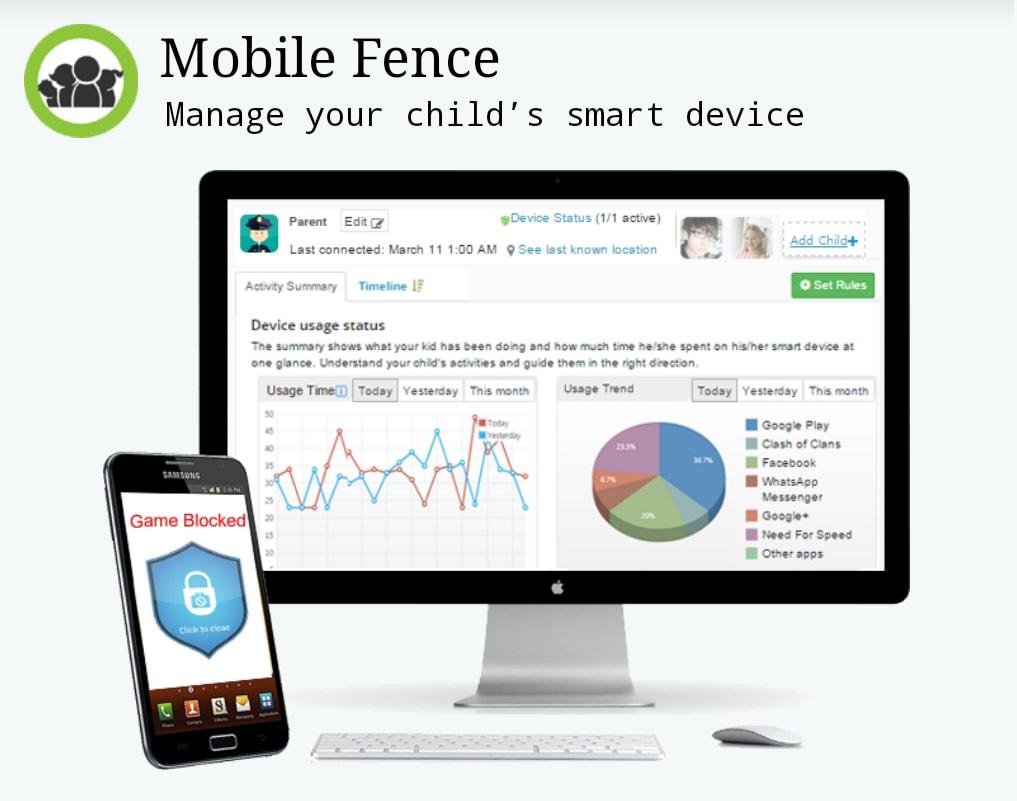 Come controllare lo smartphone dei propri figli: Mobile Fence (foto)