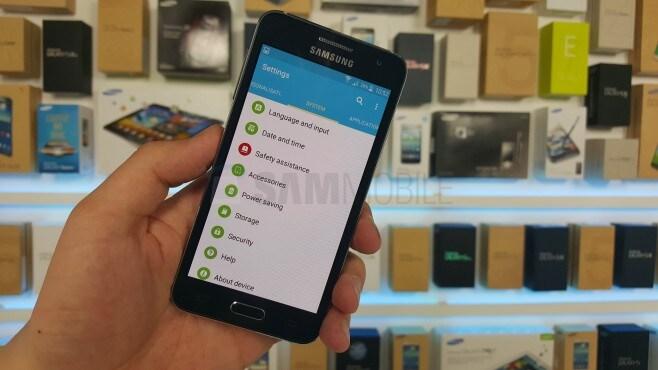Samsung Galaxy A3 Lollipop - 1