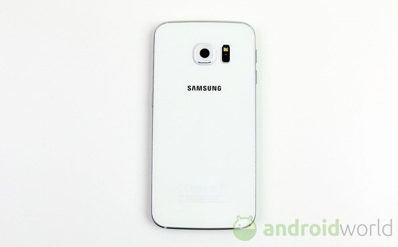 Sensore Sony VS sensore Samsung sulla fotocamera di Galaxy S6 (foto)