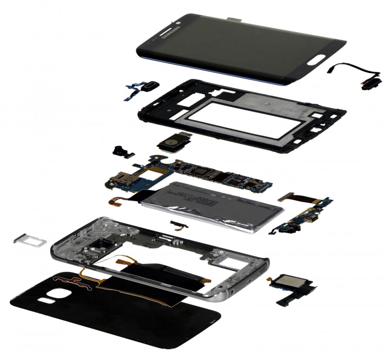 Samsung galaxy s6 edge exploded