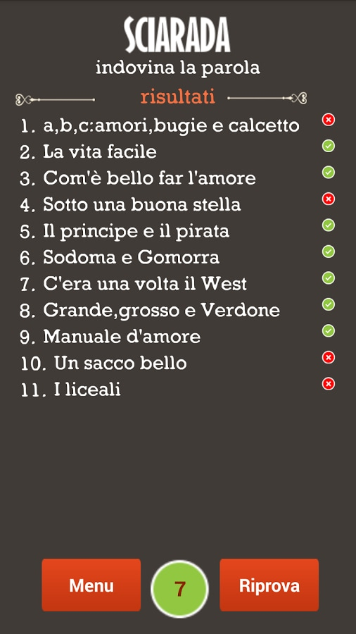 Sciarade Italiano – 4
