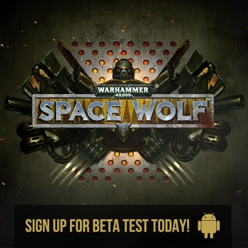 Warhammer 40K Space Wolf Beta