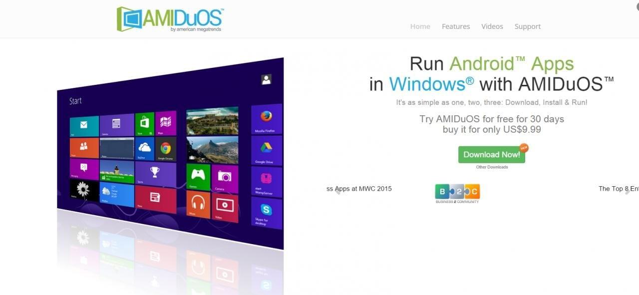Installate Android all'interno di Windows con AmiduOS (guida)