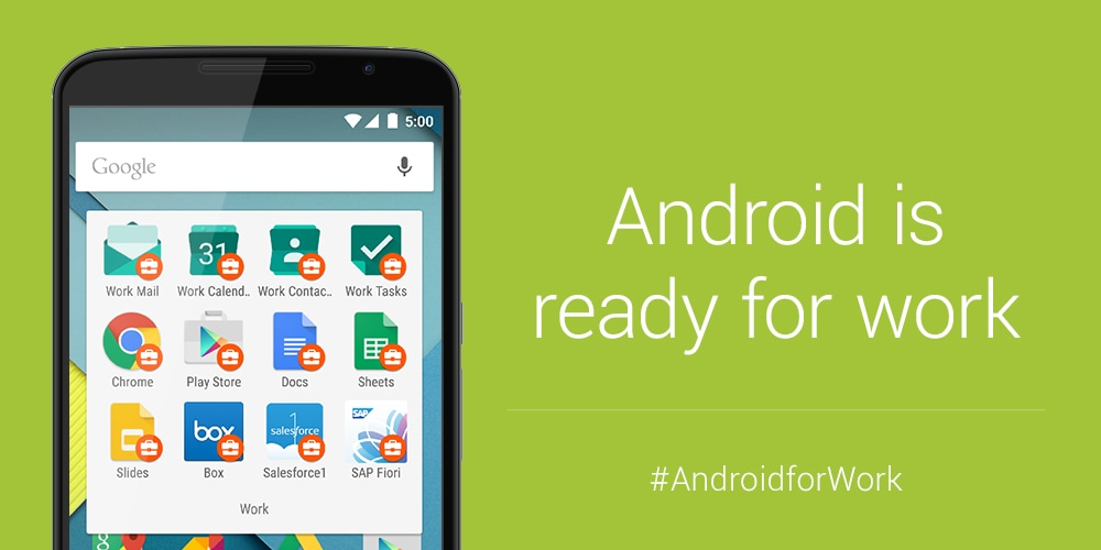 Android for Work app approda sul Play Store (download apk)