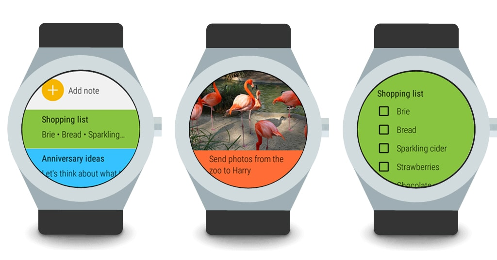 android wear keep