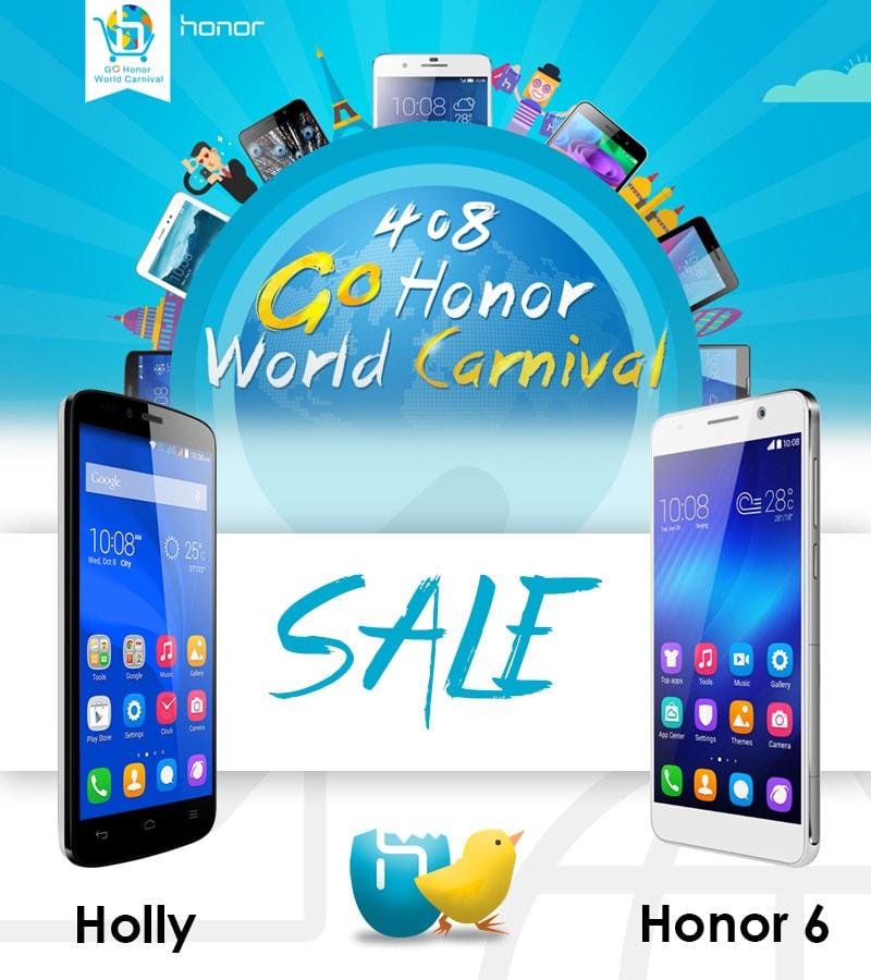 Honor Holly e Honor 6: domani e solo domani scontati su Amazon.it