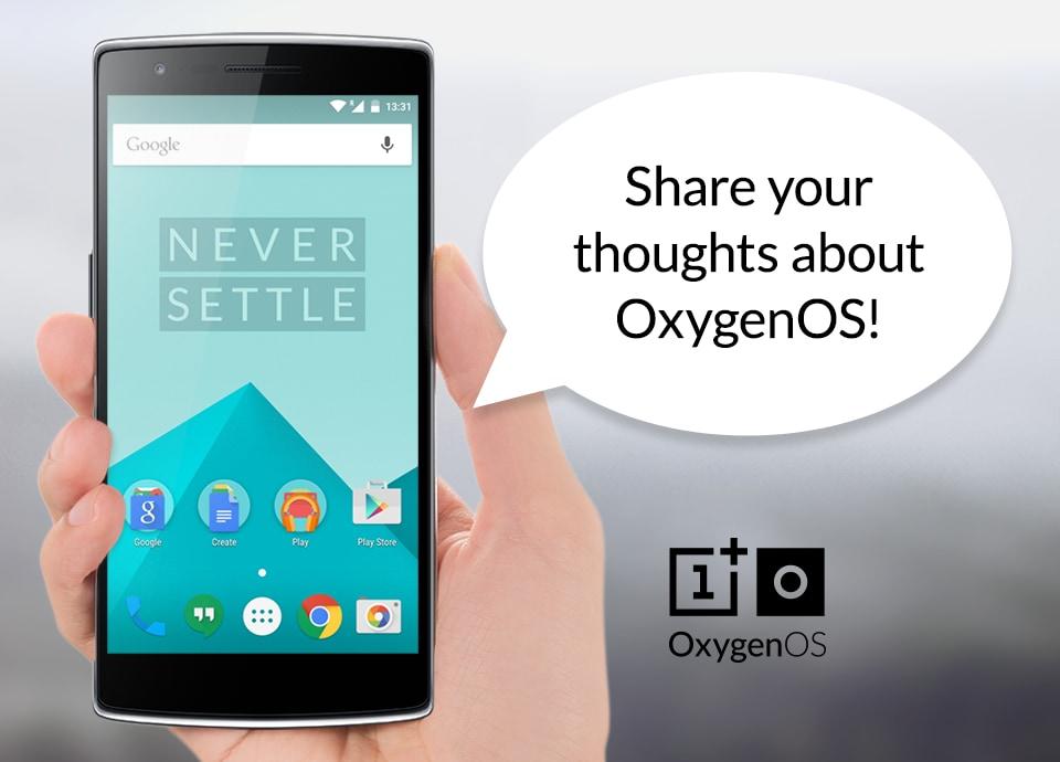oxygen feedback