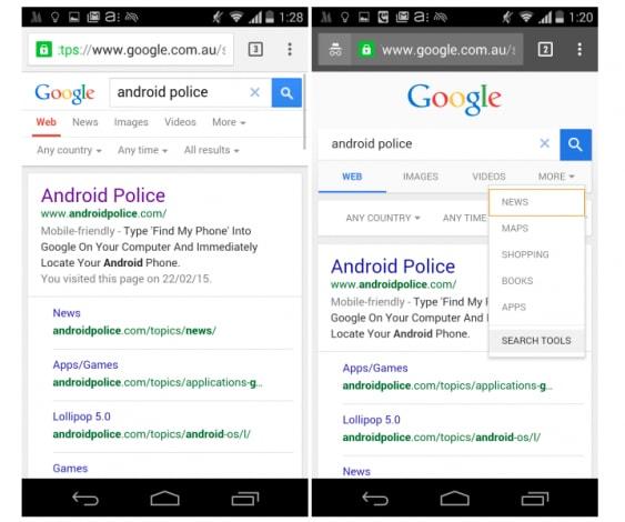 La ricerca su Google potrebbe diventare in Material Design ...