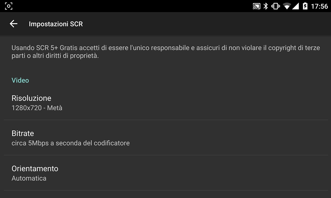 SCR Screen Recorder rimosso dal Play Store