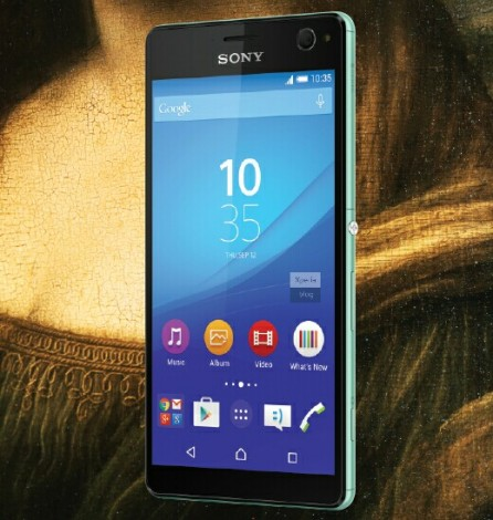 sony xperia c4 render