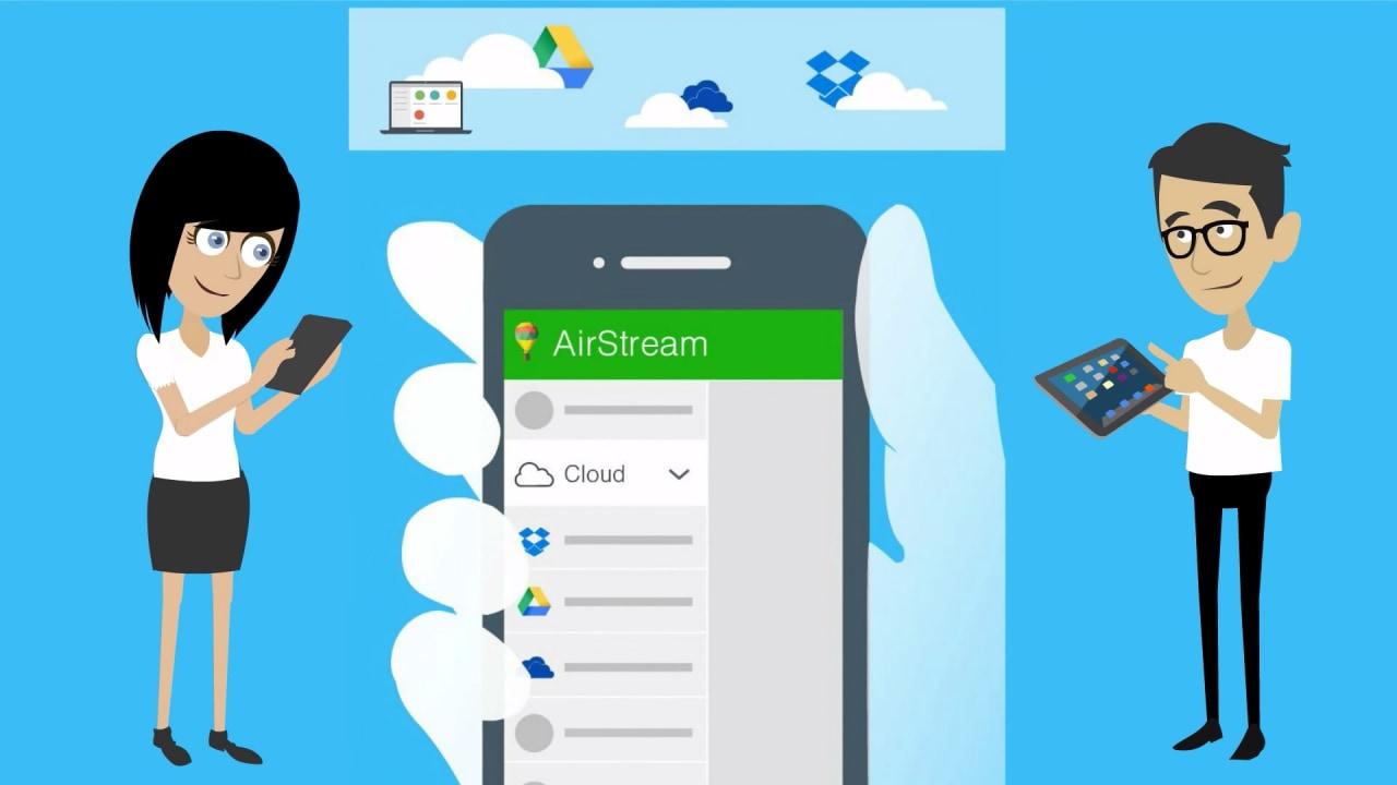 Come accedere ai propri files su PC e servizi cloud in un posto solo: AirStream (foto e video)