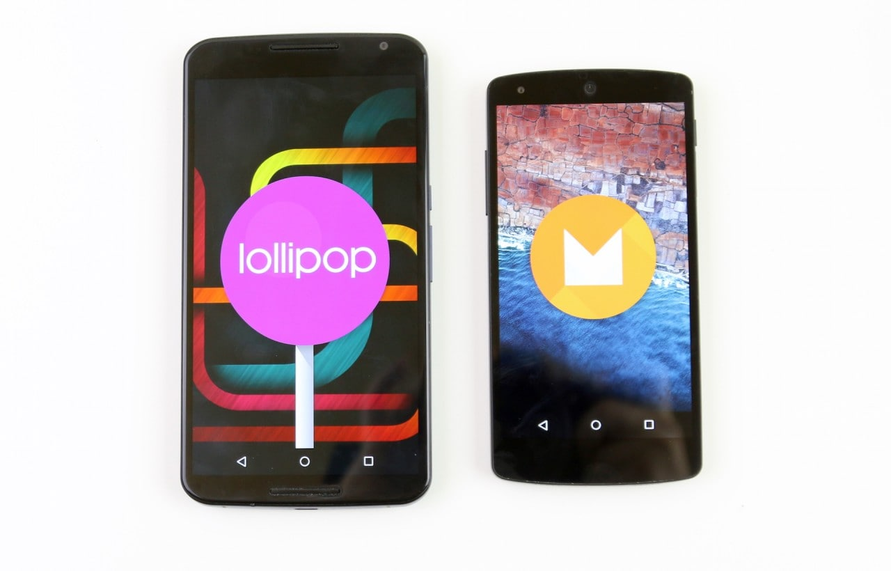 Android Lollipop vs Android M